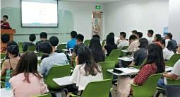 腾讯上海分公司培训室课程现场